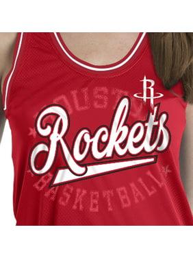 Houston Rockets Women's Sleeveless Polyester Crew Neck Tank