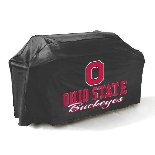 Mr. Bar .B.Q Ohio State Buckeyes Grill Cover - Supports Grill