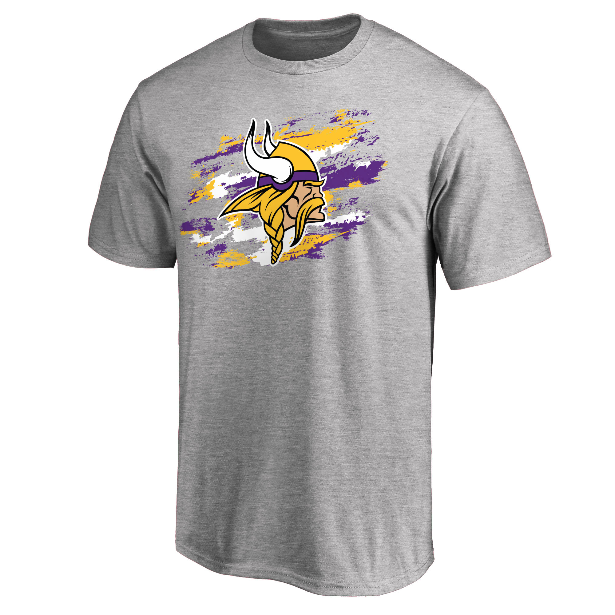 Minnesota Vikings NFL Pro Line True Color T-Shirt - Heathered Gray