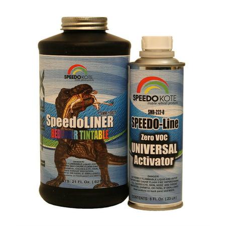T-Rex Tintable Bed Liner, 2K Urethane, SMR-1000T-K1 Quart Kit Truck -