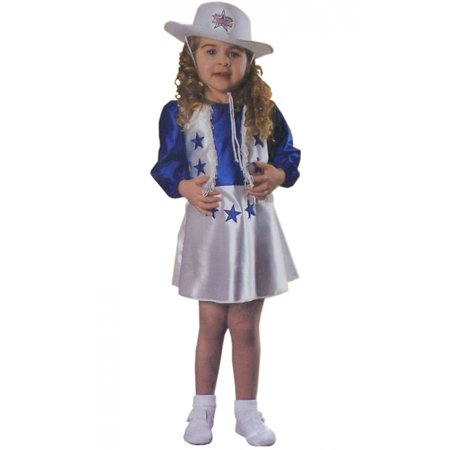 Dallas Cowboys Cheerleader Toddler Costume - Toddler