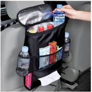 FrontTech Car Seat Back Organizer Auto Multi Pockets Travel Storage Bag Insulated