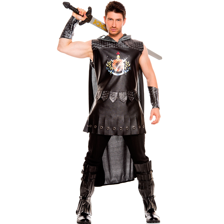 Mens Medieval Warrior King Costume