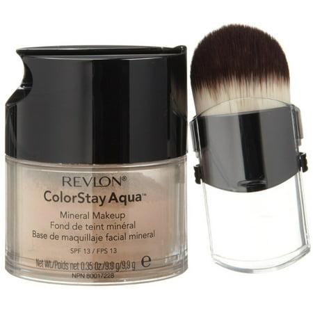 2 Pack - Revlon Colorstay Aqua Mineral Makeup, Medium Deep 0.35
