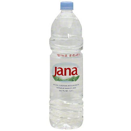 Jana European Artesian Water, 50.7 oz (Pack of 12)