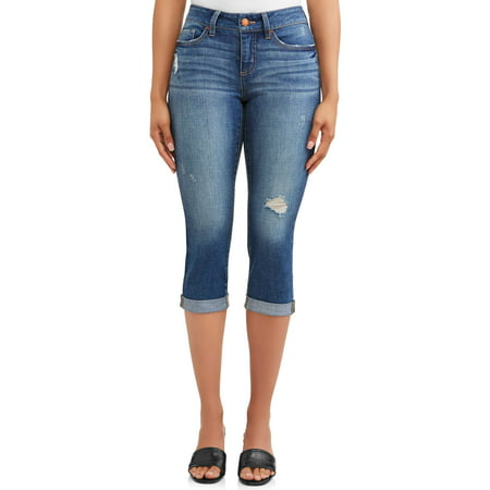 "Women's 21"" Denim Capri"