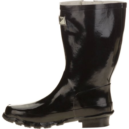 Forever Young Women's Short Shaft Rain Boots (Best Boots For Short Skinny Legs)