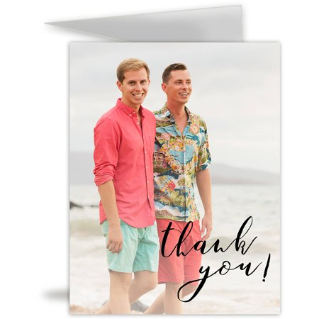 Tropical Party Birthday Thank You Card