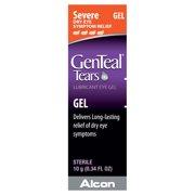 GenTeal Tears lubricant Eye Gel for Severe Dry Eye Symptom Relief, .34 Oz.