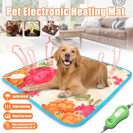 - Pet Pad Blanket Heat Heated Heating Mat Dog Cat Bunny Bed Waterproof Valentine Gift Love for Pet