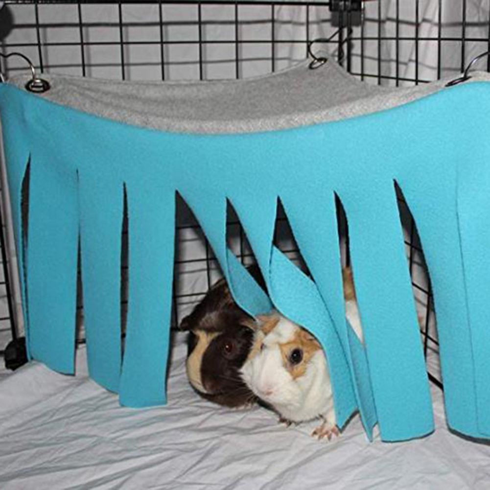Hedgehogs Corner Fleece Forest Hideout for Guinea Pigs Accessories and Toys Dwarf Rabbits and Other Small Pets Ferrets Chinchillas