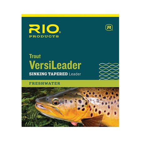 : Trout Versileader, Blue/Red Loop, 12ft 4ips, Trout VersiLeaders are an instantaneous addition that converts floating lines to sink tips. By Rio Ship from (Rio Sink Tips)