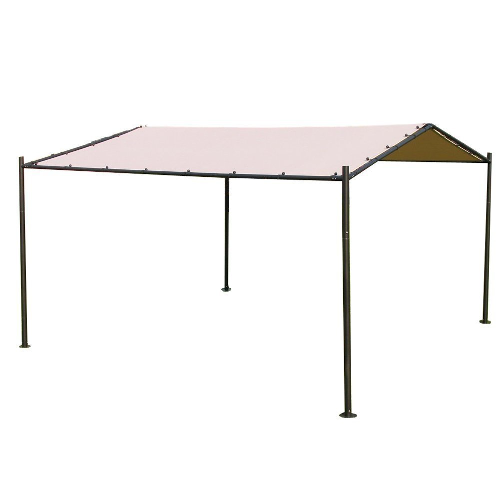 Abba Patio Portable Outdoor Canopy Garden Gazebo, 13' x 11.5', Beige by Abba Patio