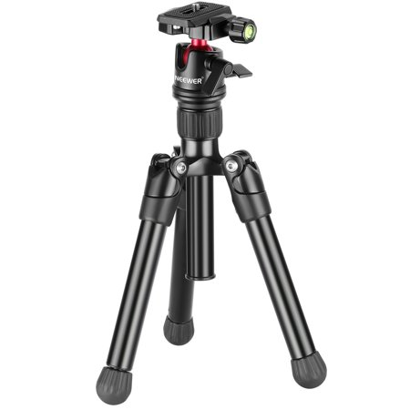 Neewer 25 inches/63.5 centimeters Portable Compact Desktop Macro Mini Tripod with 360 Degree Ball Head,1/4 inch Quick Shoe Plate,Bag for DSLR Camera,Video Camcorder up to 11 pounds/5 (Best Dslr For 1000 Pounds)