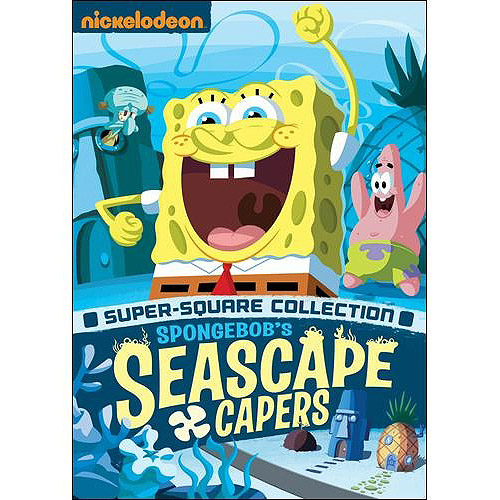 SpongeBob SquarePants: The Seascape Capers (Super Square Collection) (Full Frame)