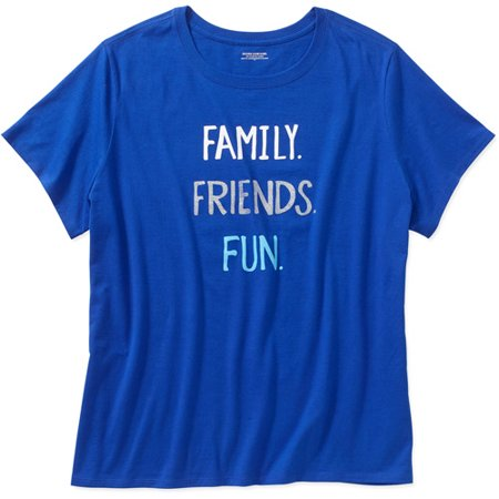 0c34c0d4 Holiday - Holiday Time Women's Plus Holiday Tees - Walmart.com