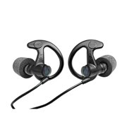 EP10 Sonic Defenders Ear Plugs Large, Black, 1 Pair