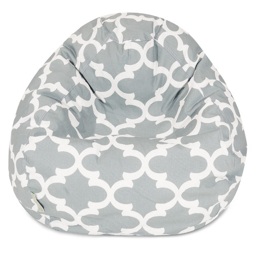 Majestic Home Goods Trellis Bean Bag Chair