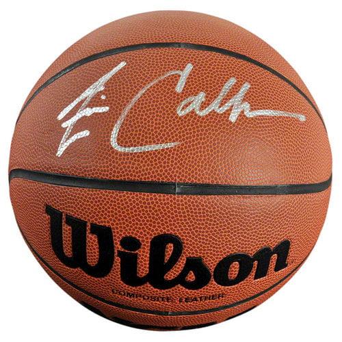 NCAA - Jim Calhoun Autographed Basketball