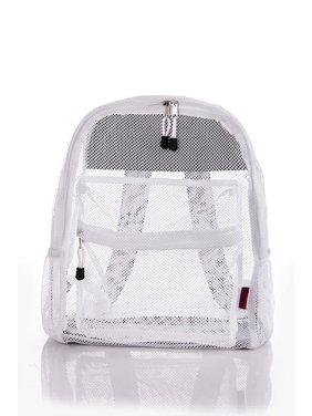 729dda2517 Product Image Clear Mesh Backpack For Kids Men Women Transparent See Through