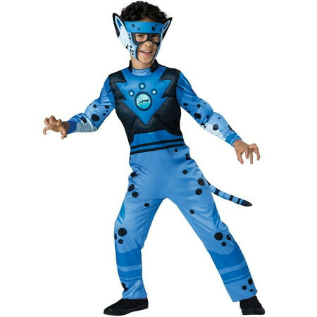 Wild Kratts Quality Cheetah Child Halloween Costume, X-Small (4)](Professional Quality Costumes)