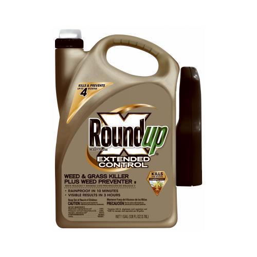 Scotts Ortho Roundup 5004010 Weed & Grass Killer Extended Control, 1-Gal. Ready-to-Use