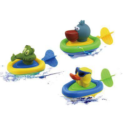 KABOER 1PCS Bath Toy,   Toys  Net Game in Bathtub Bathroom Pool Bath Time Small Crocodile Yellow Duck Pulls Water Toys Random Ducky Bath Time Gift