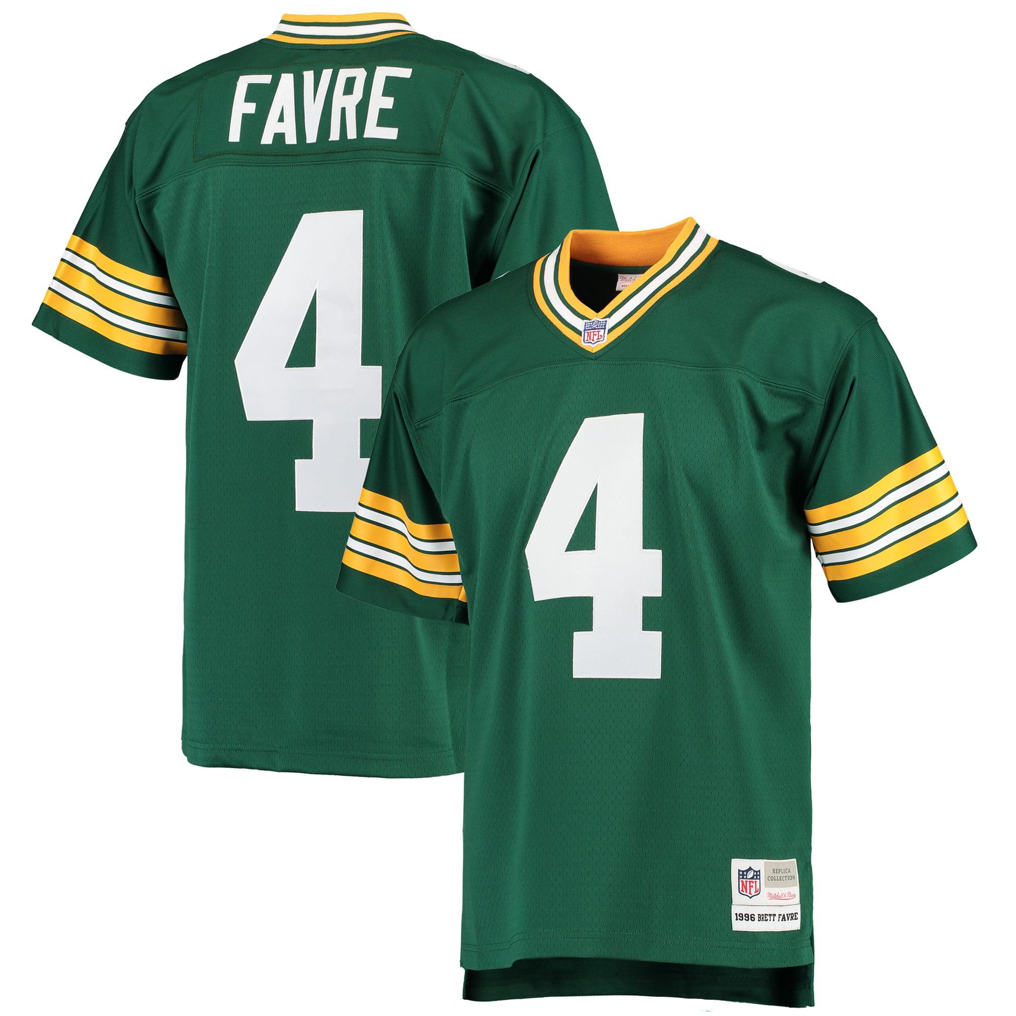 Brett Favre Green Bay Packers Mitchell & Ness 1996 Replica Retired Player Jersey - Green