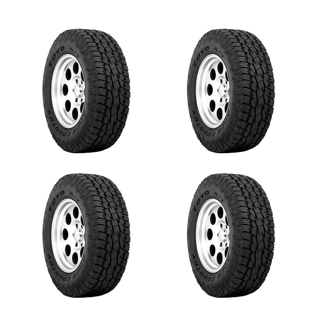 TOYO All Terrain Tires P265/65R17 110T Open Country (R) A/T II (Set of 4)