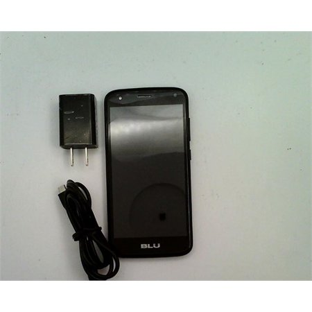 Refurbished BLU C5 C012Q Smartphone (GSM Unlocked) - Black