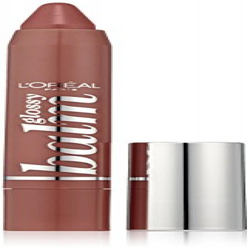 L'oreal Paris Colour Riche Glossy Balm, 200 Lovely Mocha, 0.09 Ounce