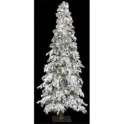 Autograph Foliages C-1941 - 7 Foot Flocked Carolina Pine - Clear Lights