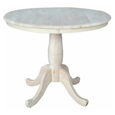 Road Pedestal Table - 36