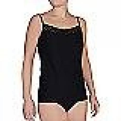 ExOfficio Give-N-Go Lacy Shelf Bra Camisole - Women's Black Large