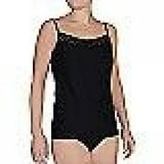 ExOfficio Give-N-Go Lacy Shelf Bra Camisole - Women's Black Large