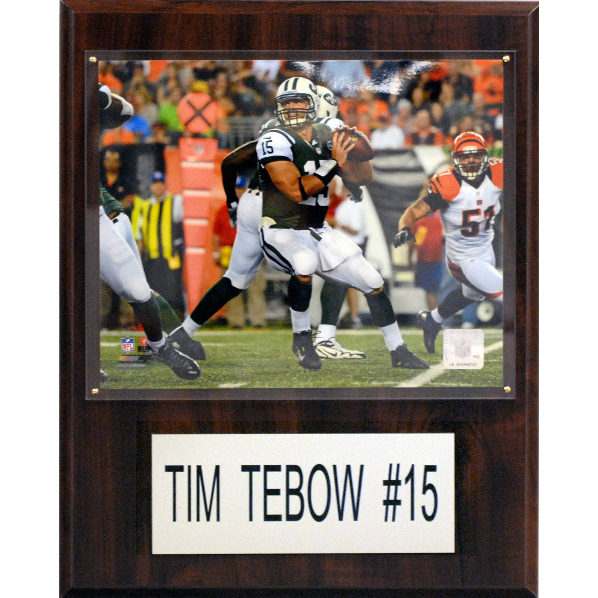 C&I Collectables NFL 12x15 Tim Tebow New York Jets Player Plaque