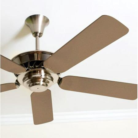 Ceiling Fan Blade Covers (Solid Beige Fancy Blade Ceiling Fan Blade Covers Home Decor & Baby)