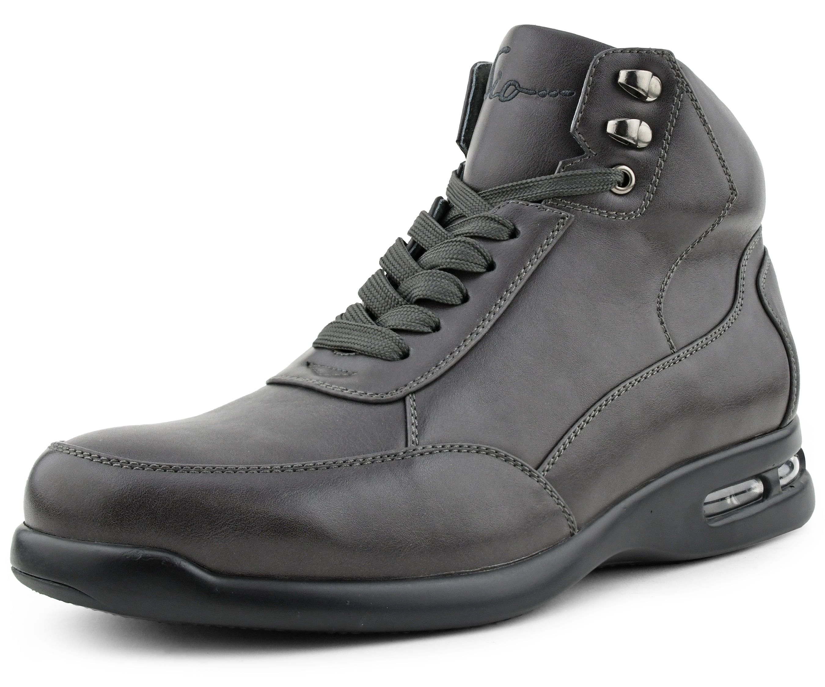Sio Mens High Top Sneaker Boots Faber