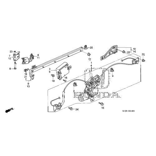 Honda 72561 Shj A01 Sliding Door Center Roller Assembly Honda Odyssey Walmart Com Walmart Com
