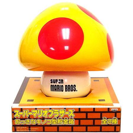 Super Mario Bros Mega Mushroom Coin Bank