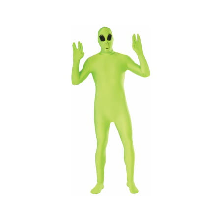 CO-DISAPPEARNG MAN-ALIEN-XL - Adult Alien Costumes