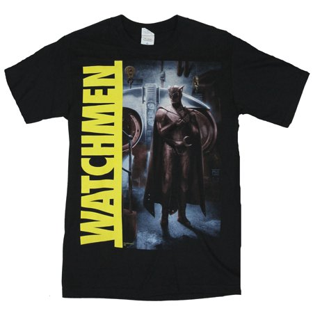 The Watchmen (DC Comics) Mens T-Shirt  - Nightowl Night Owl Quote Image on B](Watchmen Night Owl)