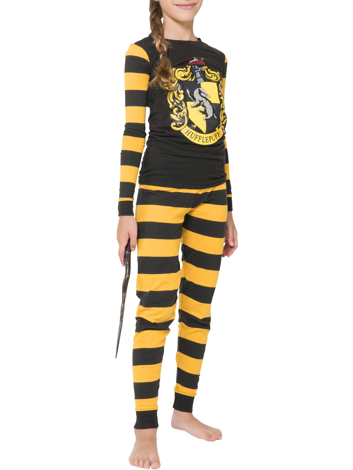 Harry Potter Hufflepuff 2 Piece Pajama Set (Boys & Girls)