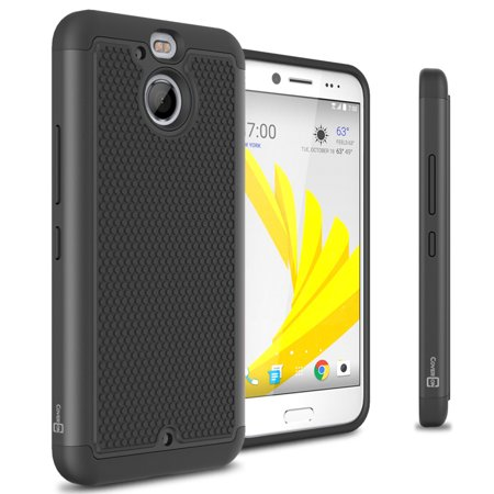 CoverON HTC Bolt / 10 EVO Case, HexaGuard Series Hard Phone Cover