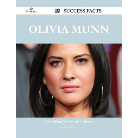 Olivia Munn 88 Success Facts - Everything you need to know about Olivia Munn - eBook (Olivia Munn Halloween)