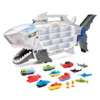 Kid Connection Shark Transporter Play Set, 18 Pieces