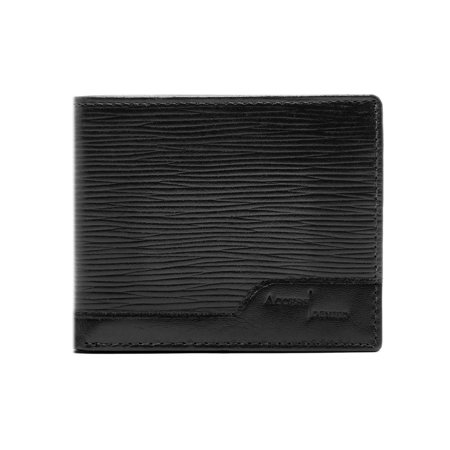Genuine Leather Wallets For Men - Bifold Mens Wallets With Flip Up ID Window RFID Blocking ()