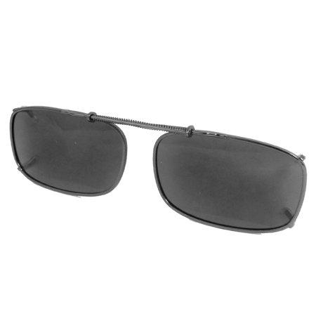 Women men gray lens sunshade polarized clip on sunglasses for Polarized fishing sunglasses walmart