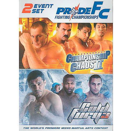 Pride FC: 2 Event Set (Championship Chaos II & Cold Fury 3)