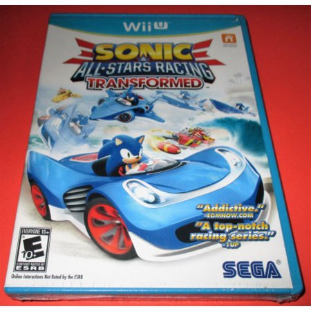 Sonic   All Stars Racing Transformed  Wii U